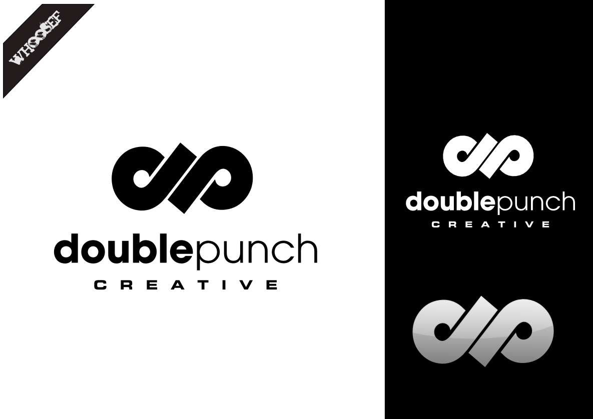 Logo Design by whoosef - Entry No. 73 in the Logo Design Contest Unique Logo Design Wanted for Double Punch Creative.