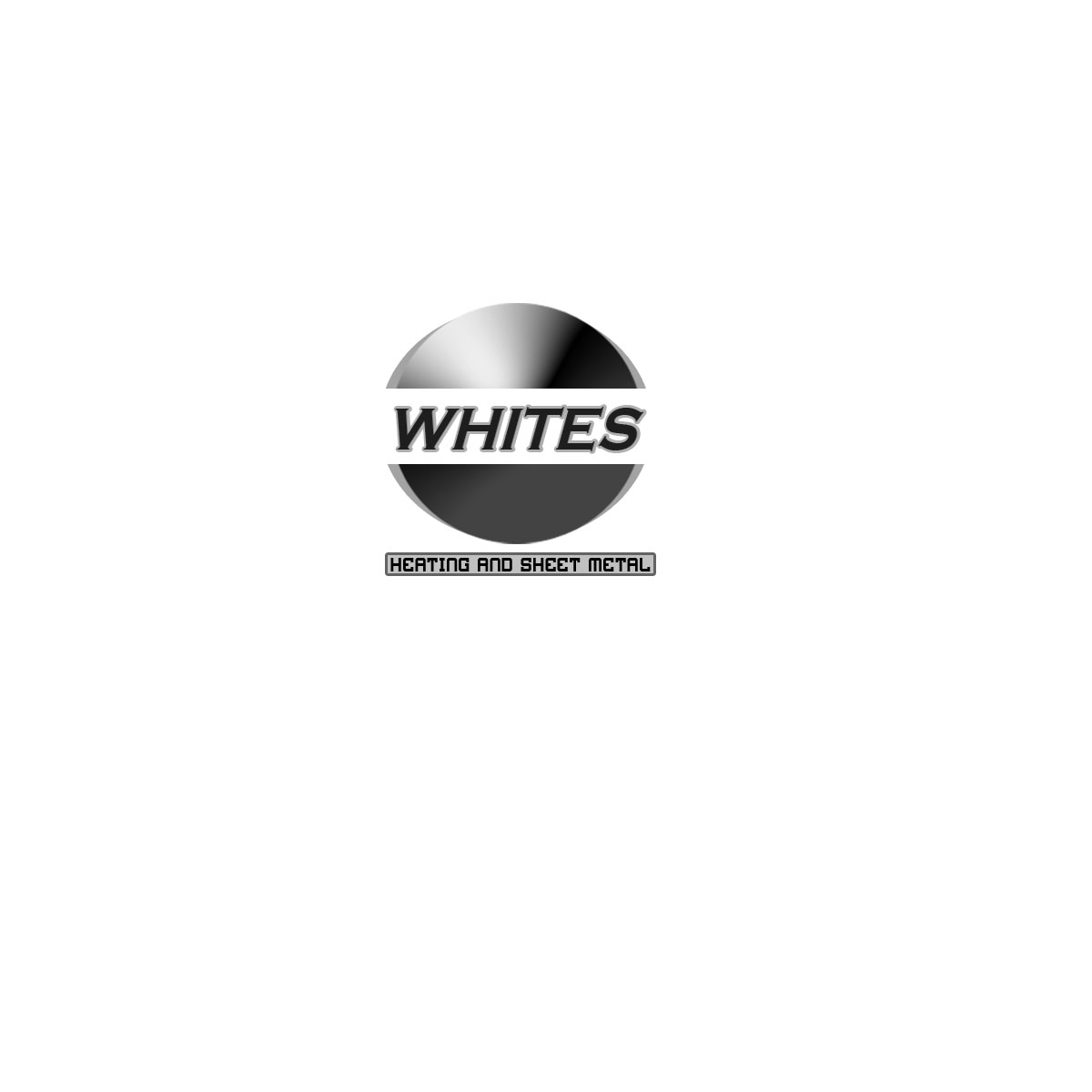 Logo Design by Moag - Entry No. 185 in the Logo Design Contest Imaginative Logo Design for White's Heating and Sheet Metal.