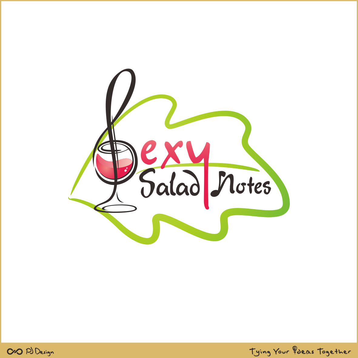 Logo Design by PJD - Entry No. 124 in the Logo Design Contest Artistic Logo Design for Sexy Salad Inc..