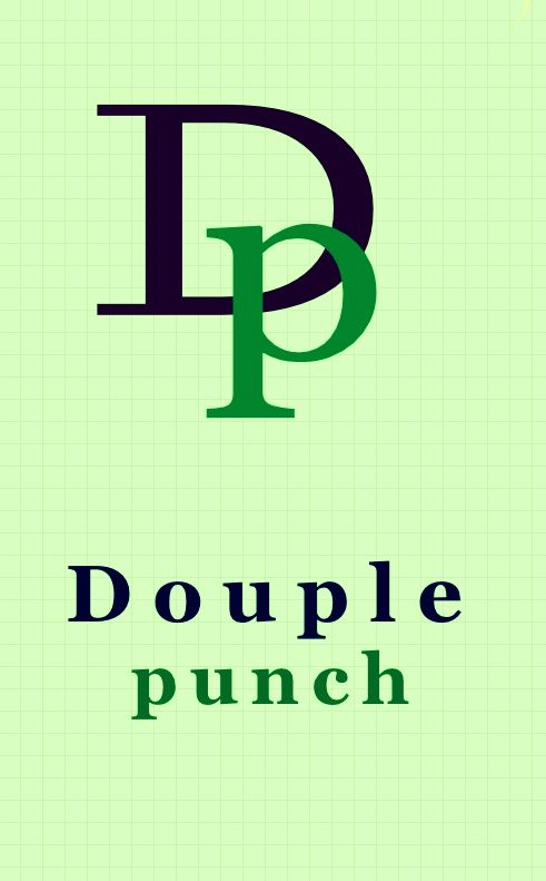 Logo Design by Private User - Entry No. 78 in the Logo Design Contest Unique Logo Design Wanted for Double Punch Creative.