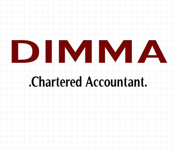 Logo Design by Private User - Entry No. 107 in the Logo Design Contest Creative Logo Design for Dimma Chartered Accountant.