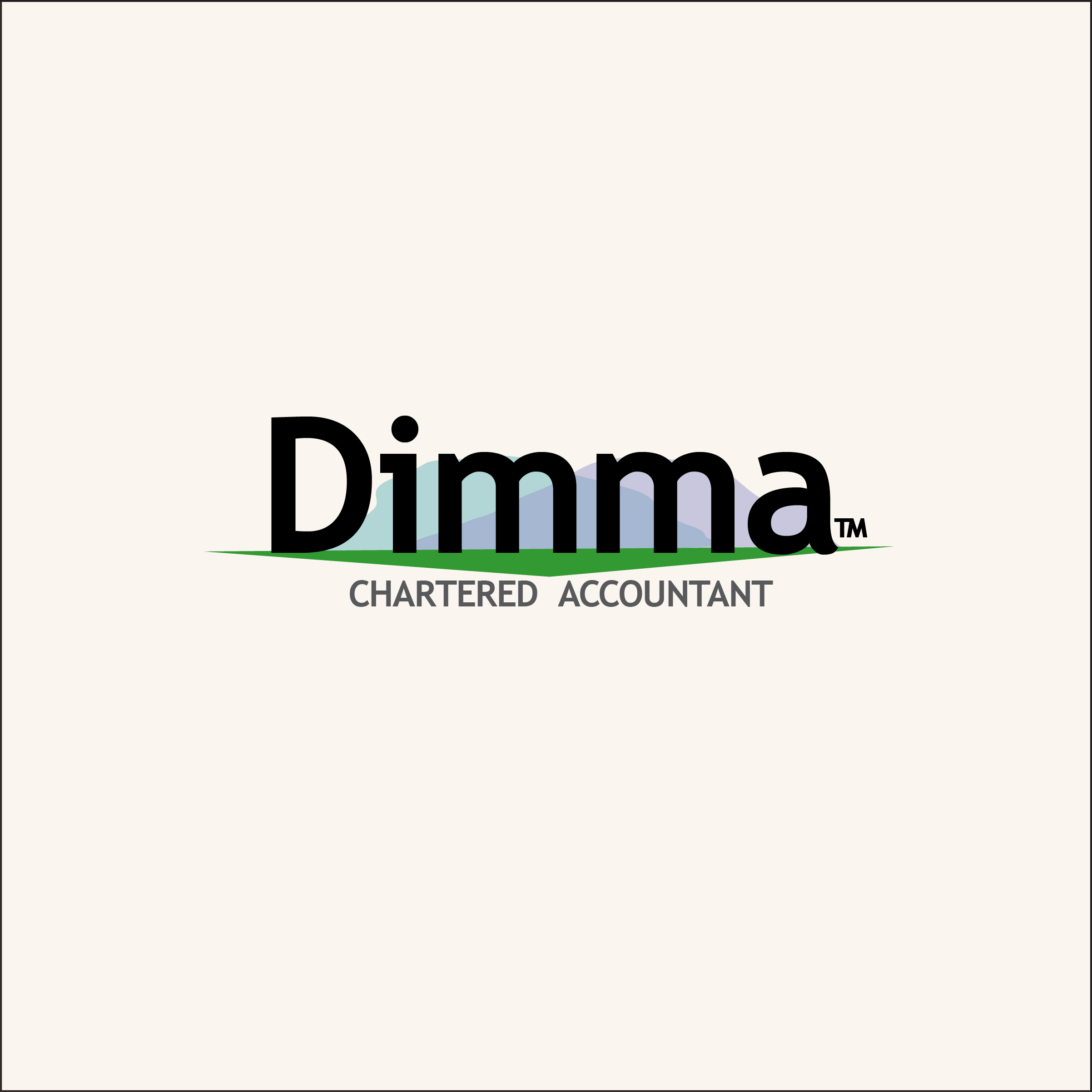 Logo Design by Nancy Grant - Entry No. 108 in the Logo Design Contest Creative Logo Design for Dimma Chartered Accountant.