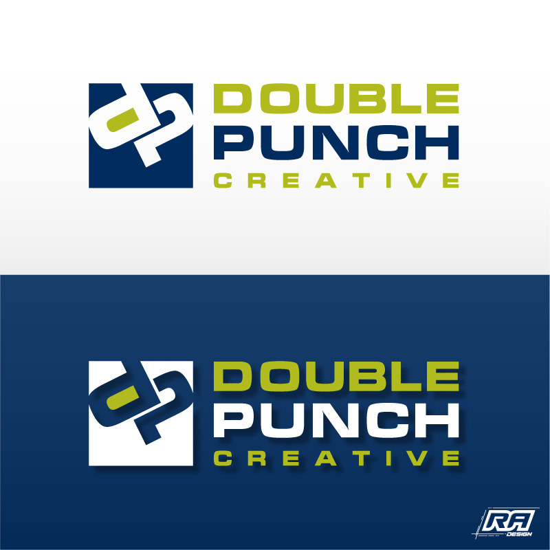 Logo Design by RA-Design - Entry No. 82 in the Logo Design Contest Unique Logo Design Wanted for Double Punch Creative.