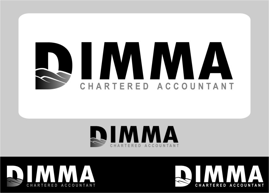 Logo Design by RasYa Muhammad Athaya - Entry No. 109 in the Logo Design Contest Creative Logo Design for Dimma Chartered Accountant.