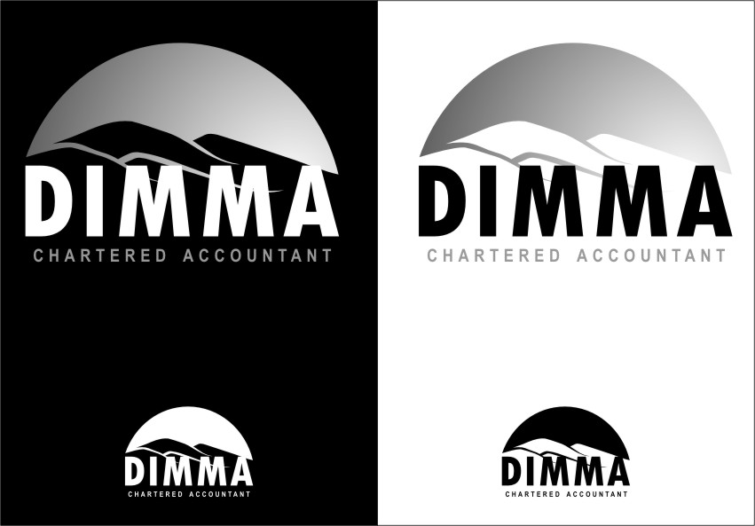 Logo Design by RasYa Muhammad Athaya - Entry No. 110 in the Logo Design Contest Creative Logo Design for Dimma Chartered Accountant.