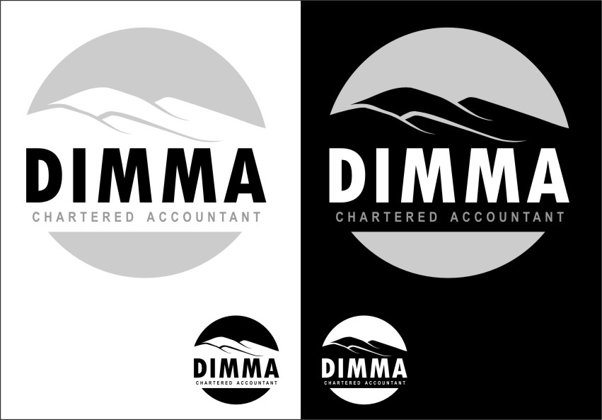 Logo Design by Ngepet_art - Entry No. 111 in the Logo Design Contest Creative Logo Design for Dimma Chartered Accountant.