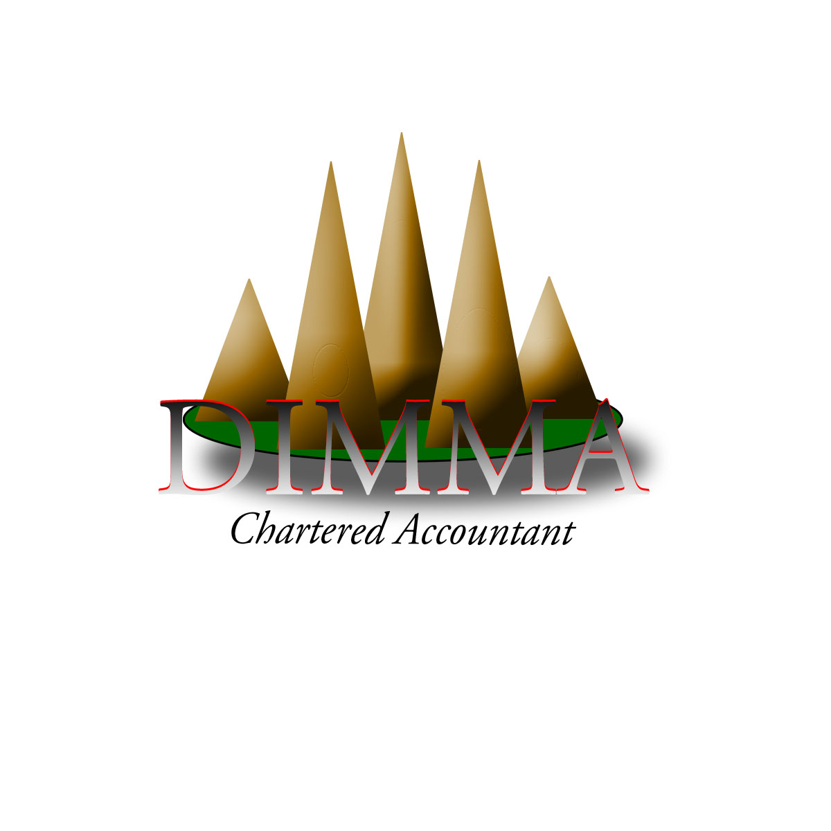 Logo Design by Moag - Entry No. 112 in the Logo Design Contest Creative Logo Design for Dimma Chartered Accountant.