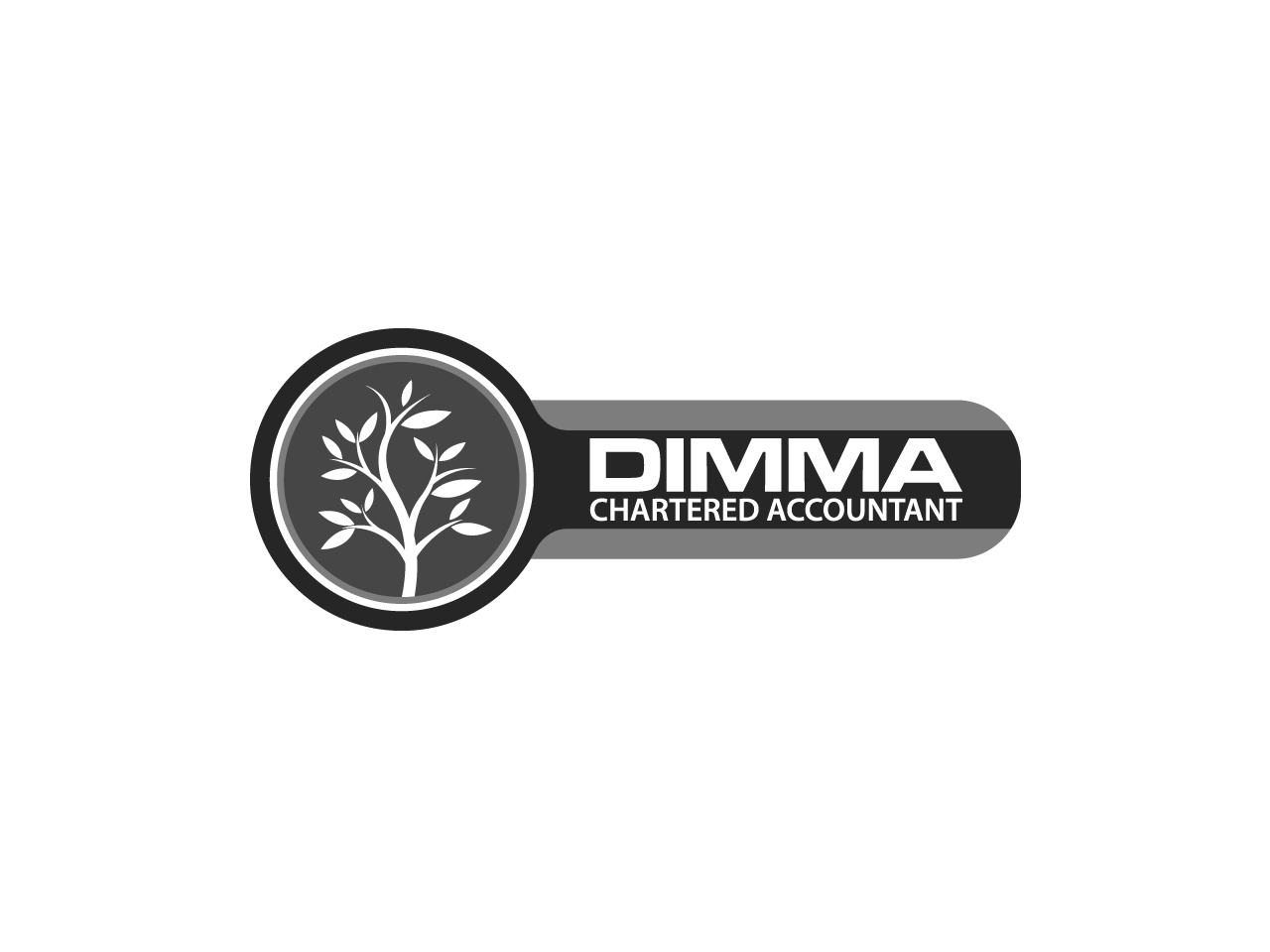 Logo Design by jpbituin - Entry No. 113 in the Logo Design Contest Creative Logo Design for Dimma Chartered Accountant.