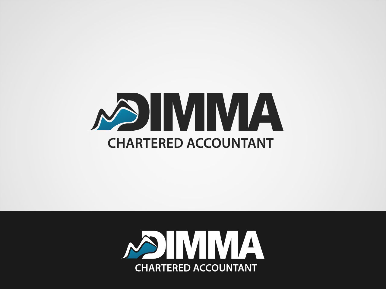 Logo Design by jpbituin - Entry No. 114 in the Logo Design Contest Creative Logo Design for Dimma Chartered Accountant.