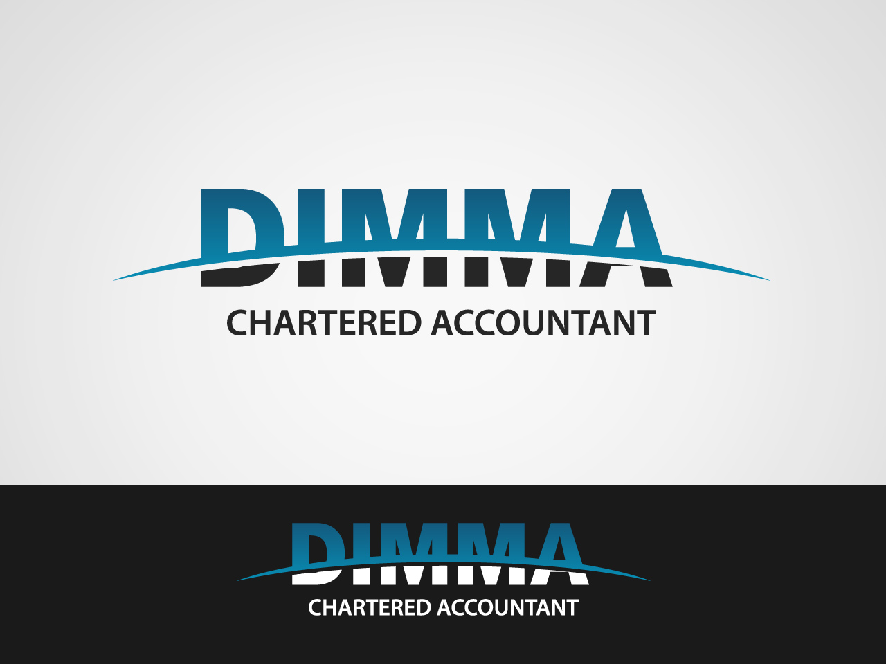 Logo Design by jpbituin - Entry No. 115 in the Logo Design Contest Creative Logo Design for Dimma Chartered Accountant.