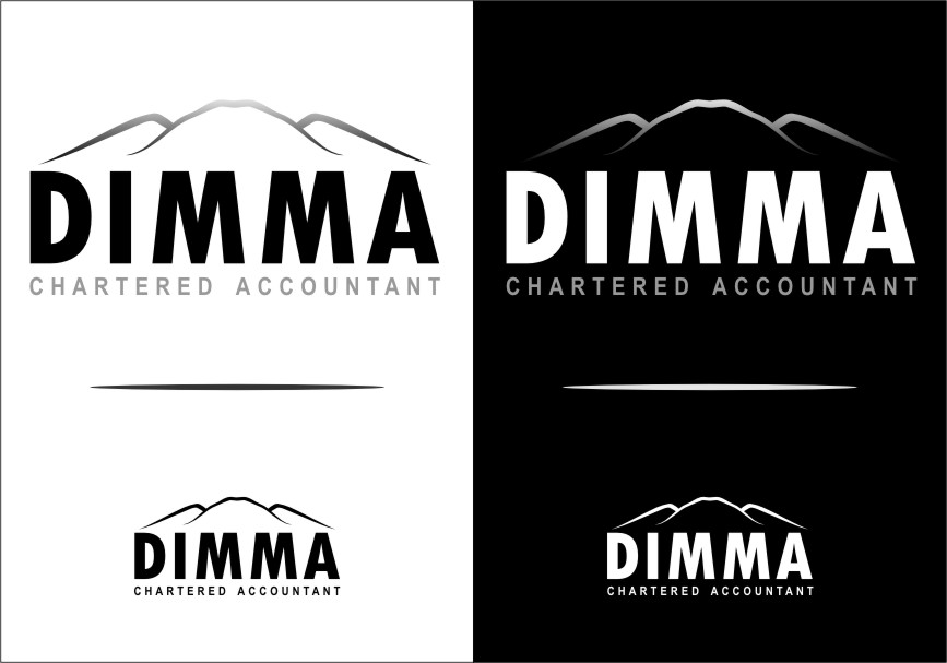 Logo Design by Ngepet_art - Entry No. 116 in the Logo Design Contest Creative Logo Design for Dimma Chartered Accountant.
