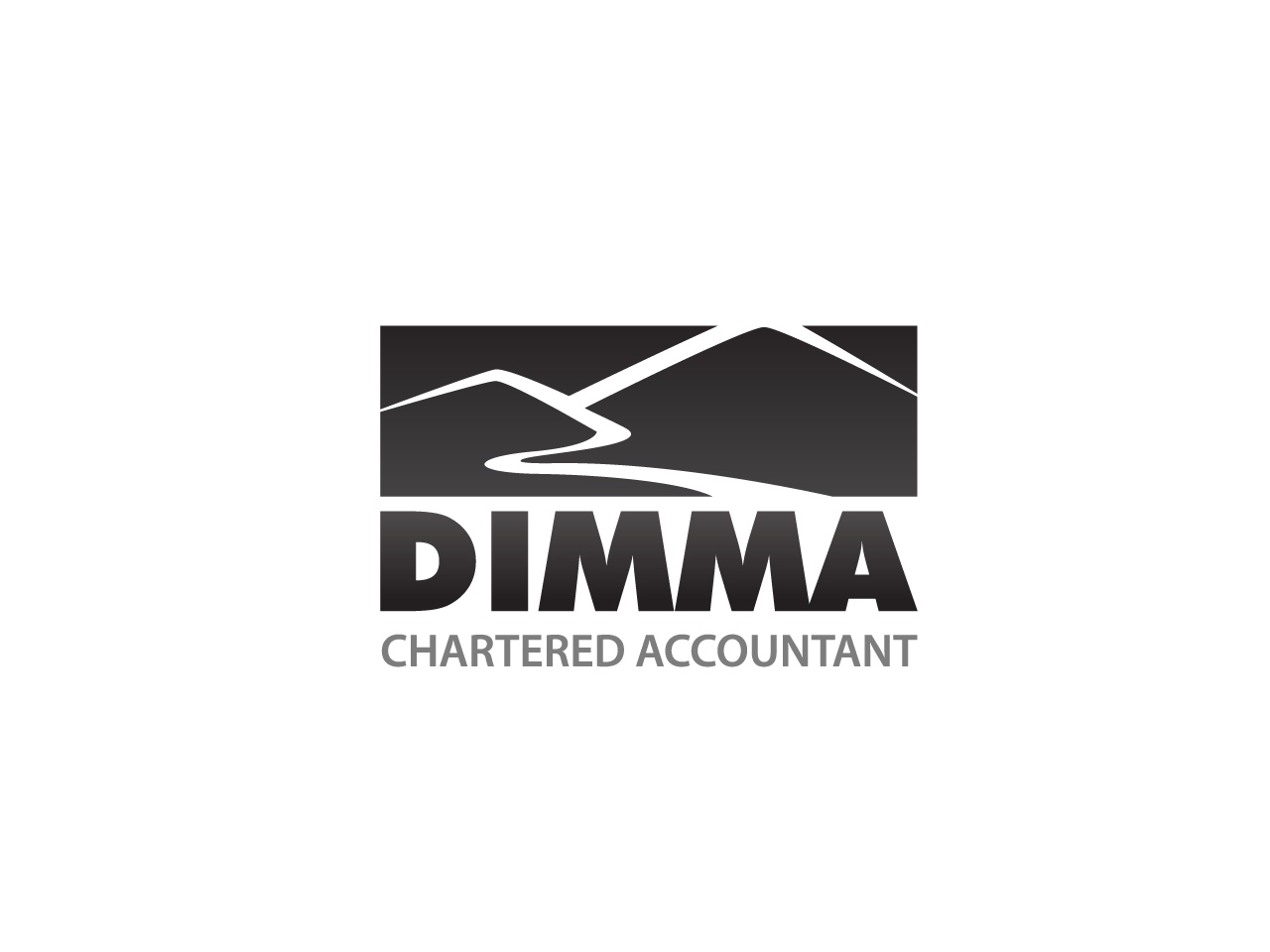 Logo Design by jpbituin - Entry No. 122 in the Logo Design Contest Creative Logo Design for Dimma Chartered Accountant.