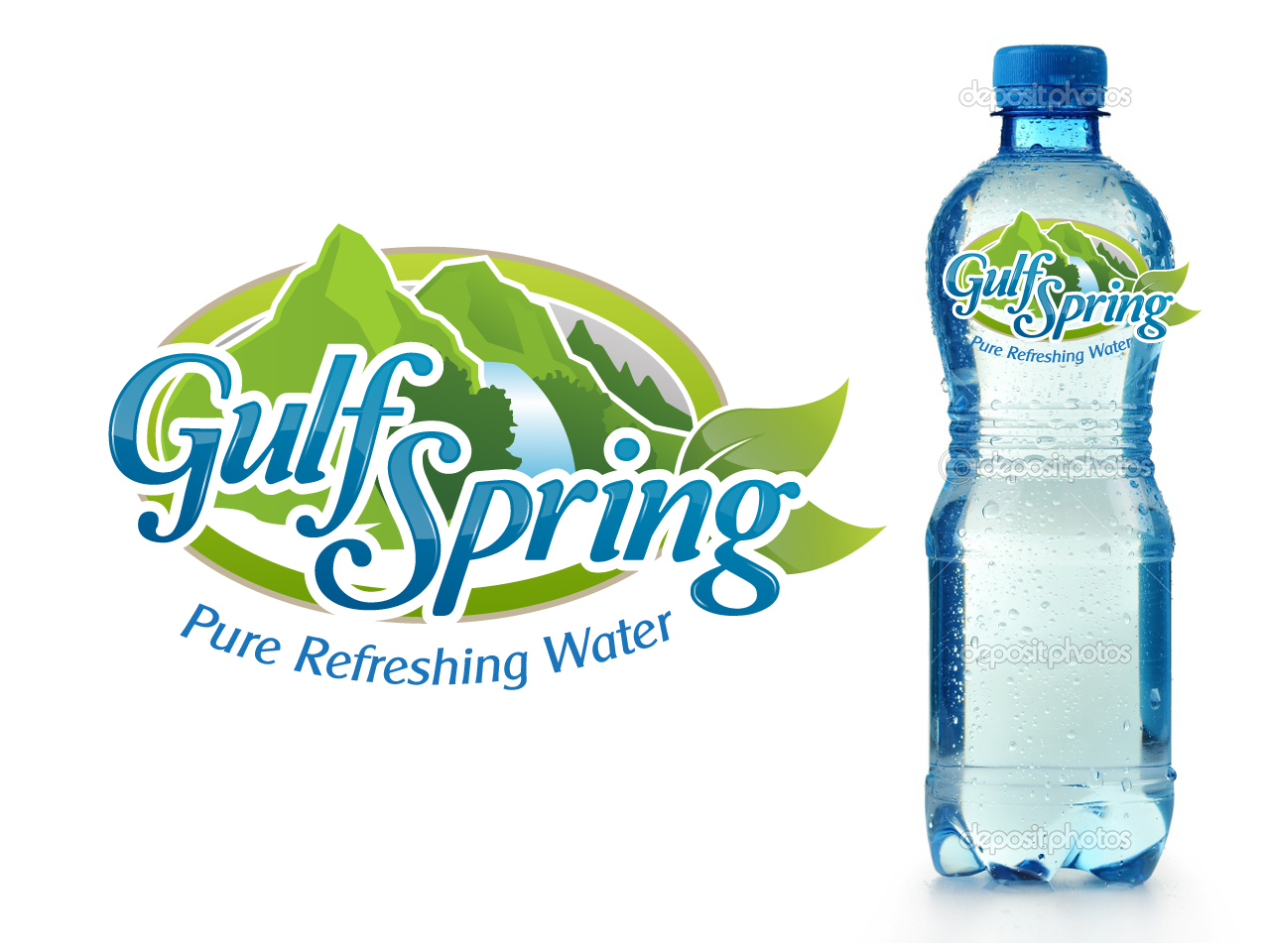 Logo Design by jpbituin - Entry No. 6 in the Logo Design Contest Inspiring Logo Design for Gulf Spring.