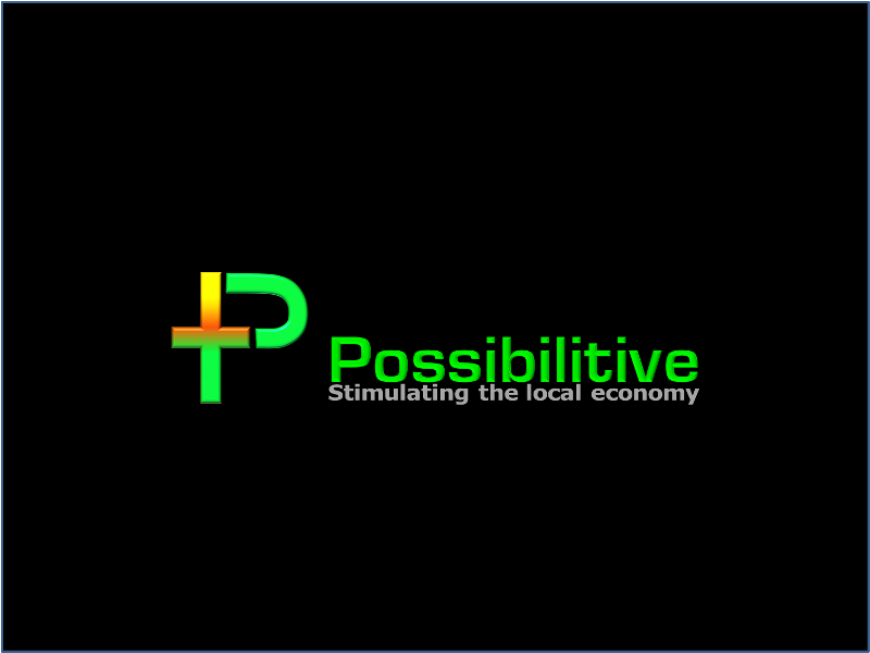 Logo Design by openartposter - Entry No. 117 in the Logo Design Contest Unemployment Specials / Possibilitive (Possible+Positive).