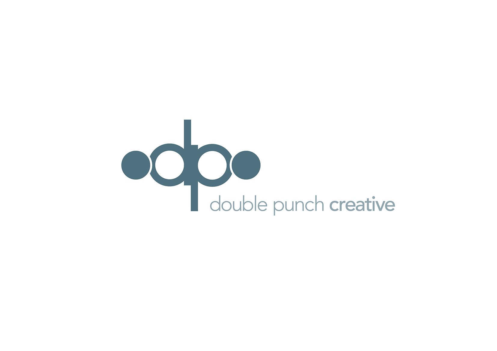 Logo Design by Sean Westson - Entry No. 89 in the Logo Design Contest Unique Logo Design Wanted for Double Punch Creative.