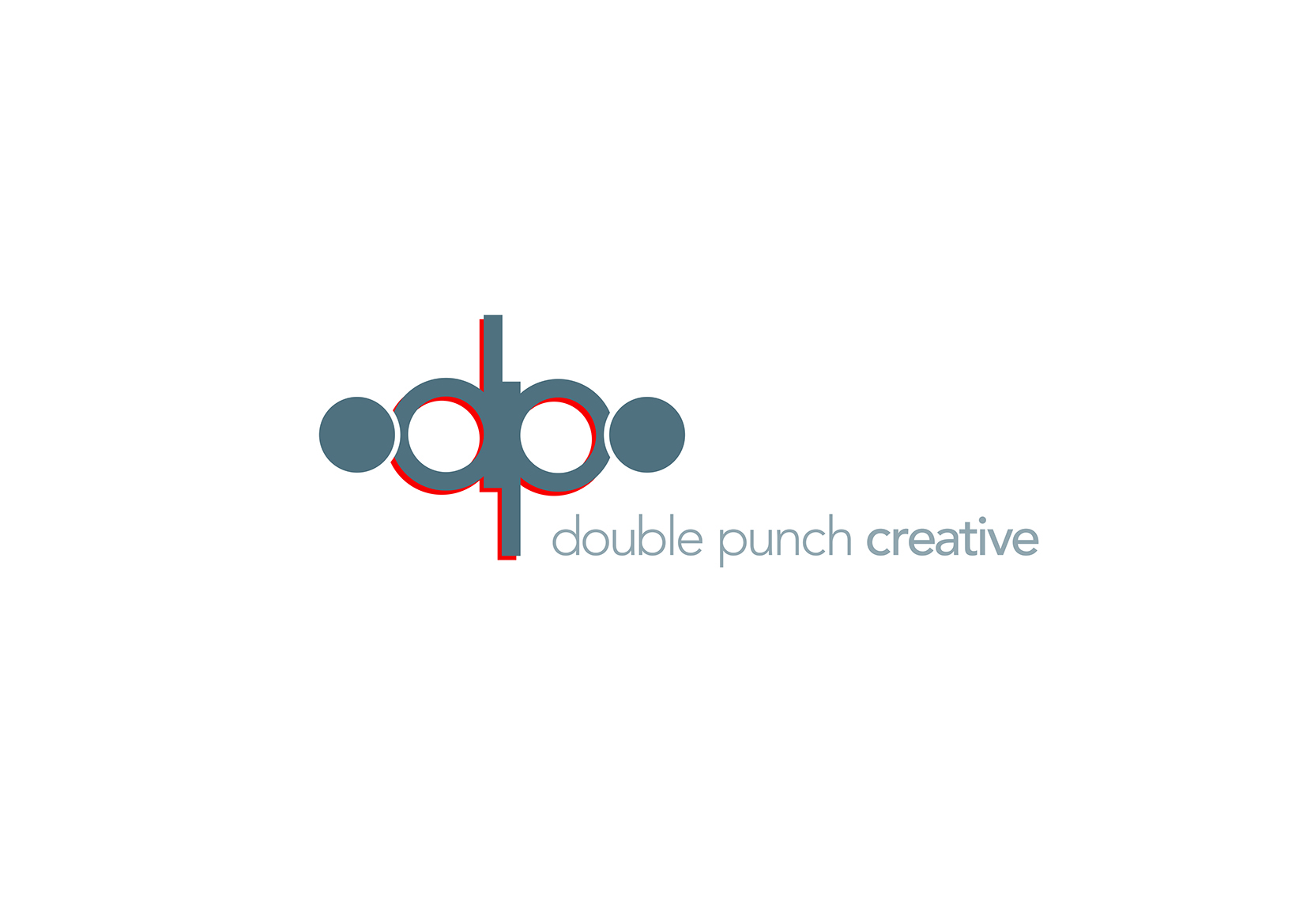 Logo Design by Sean Westson - Entry No. 90 in the Logo Design Contest Unique Logo Design Wanted for Double Punch Creative.