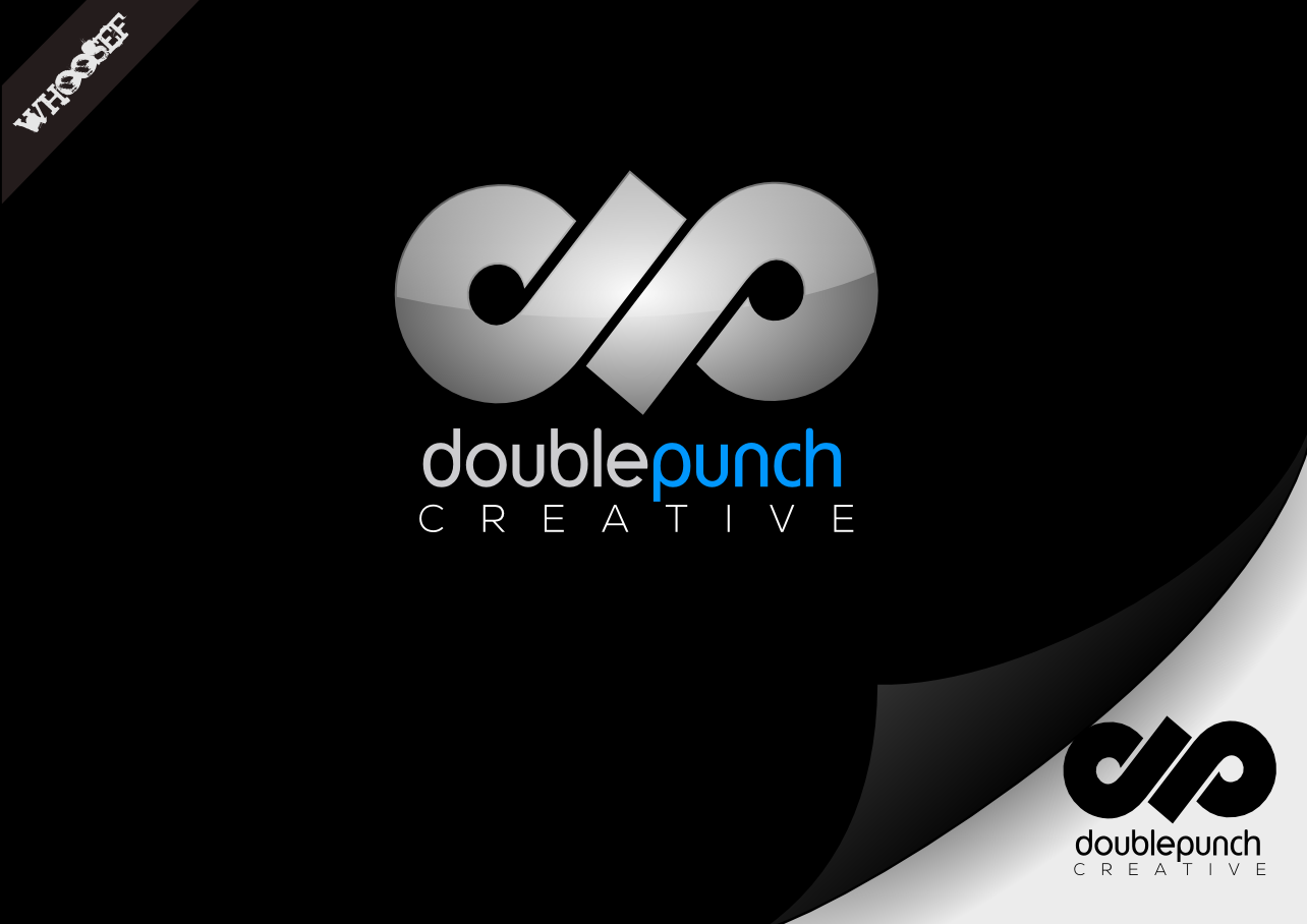 Logo Design by whoosef - Entry No. 91 in the Logo Design Contest Unique Logo Design Wanted for Double Punch Creative.