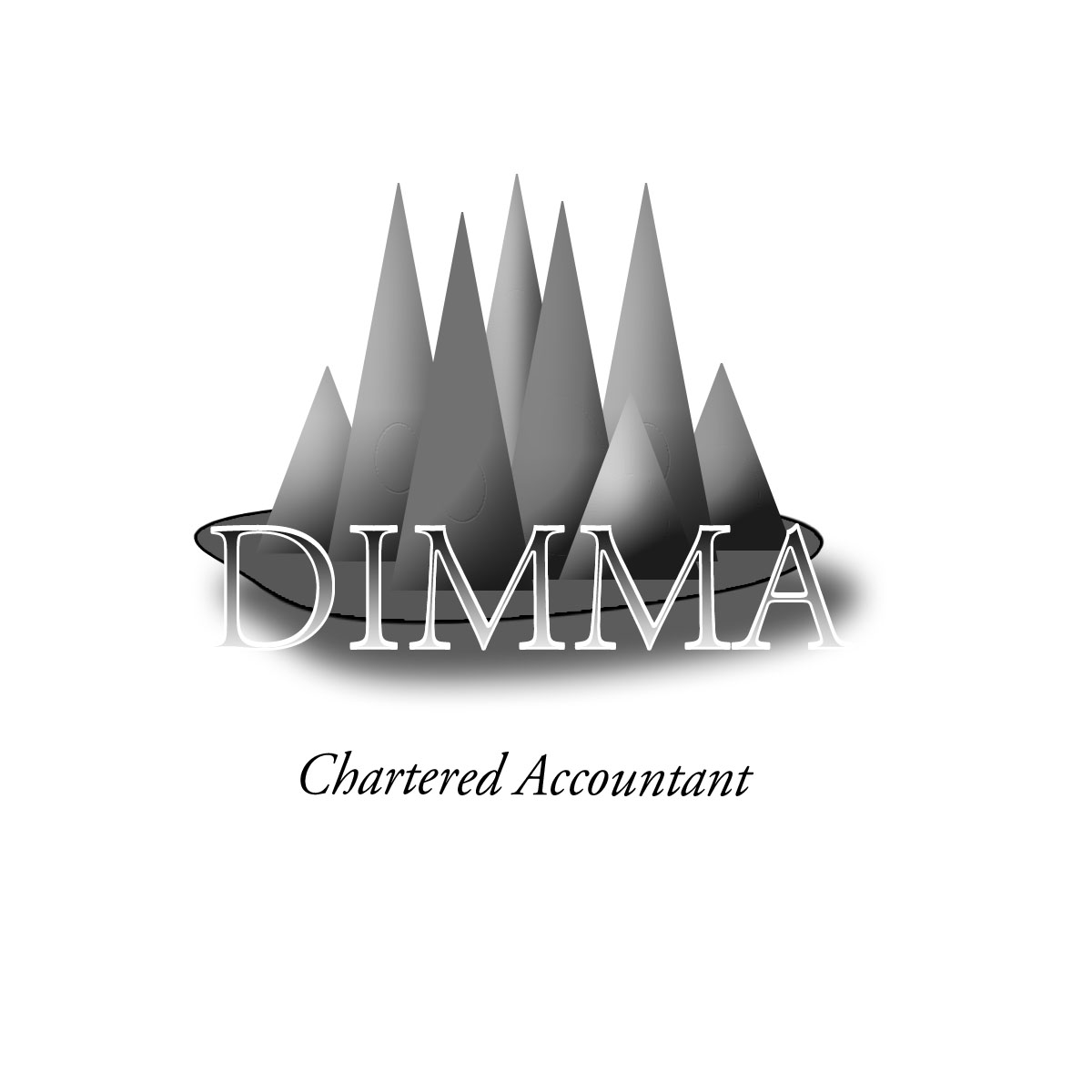 Logo Design by Moag - Entry No. 125 in the Logo Design Contest Creative Logo Design for Dimma Chartered Accountant.