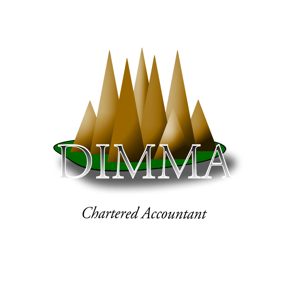 Logo Design by Moag - Entry No. 126 in the Logo Design Contest Creative Logo Design for Dimma Chartered Accountant.