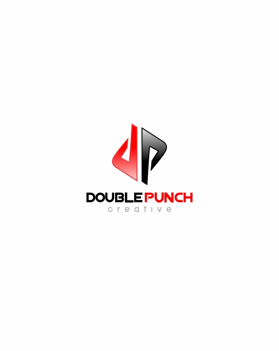 Logo Design by Private User - Entry No. 99 in the Logo Design Contest Unique Logo Design Wanted for Double Punch Creative.