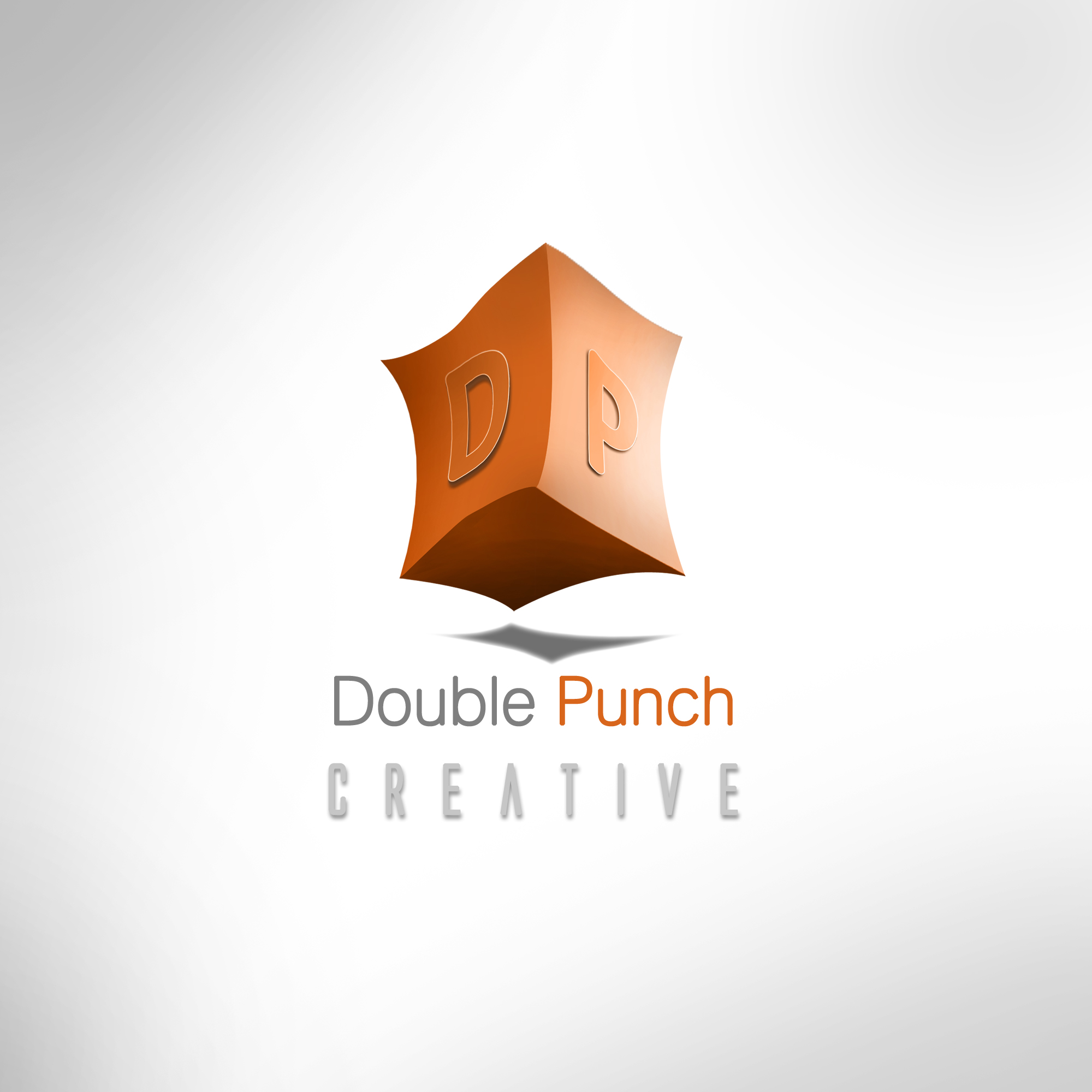 Logo Design by Shailender Kumar - Entry No. 102 in the Logo Design Contest Unique Logo Design Wanted for Double Punch Creative.