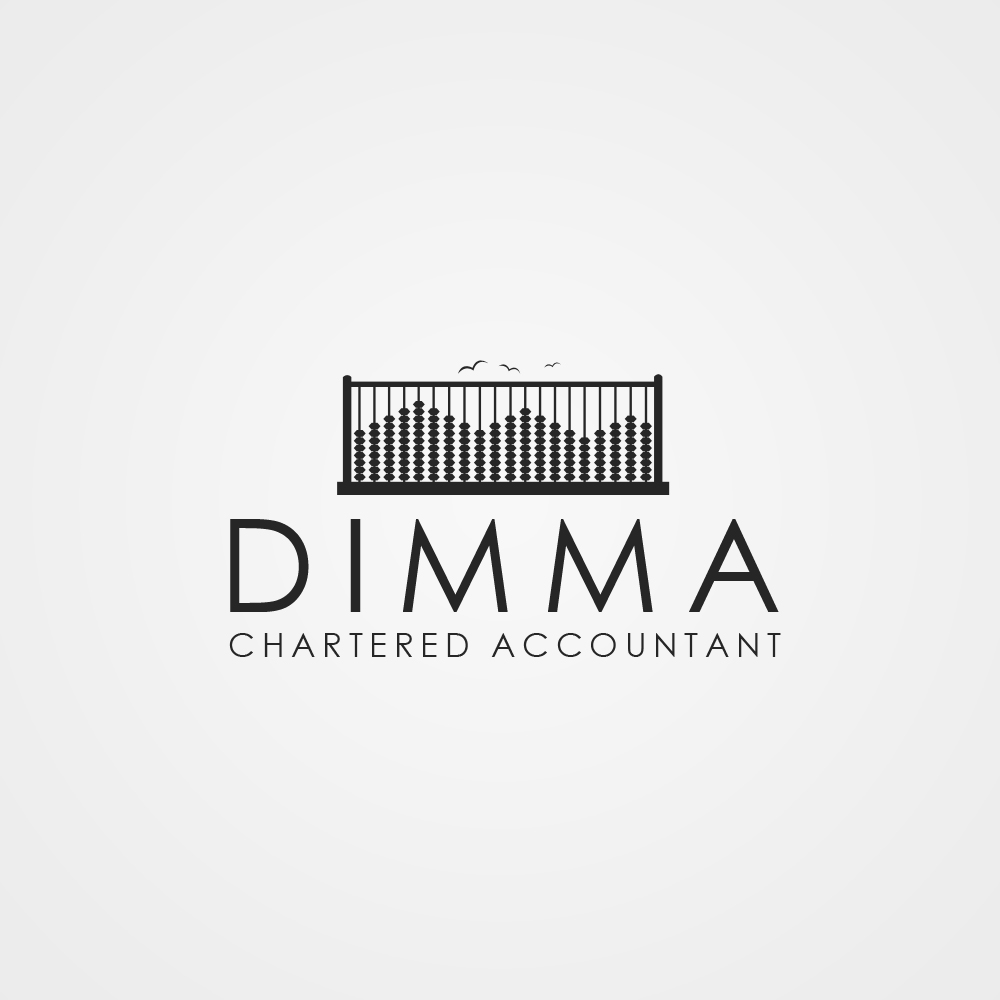 Logo Design by omARTist - Entry No. 139 in the Logo Design Contest Creative Logo Design for Dimma Chartered Accountant.