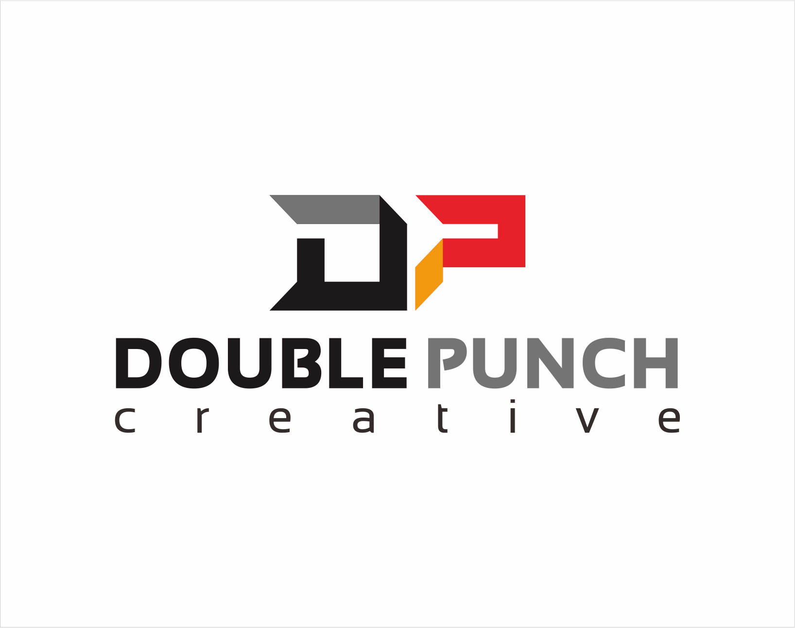 Logo Design by Armada Jamaluddin - Entry No. 103 in the Logo Design Contest Unique Logo Design Wanted for Double Punch Creative.