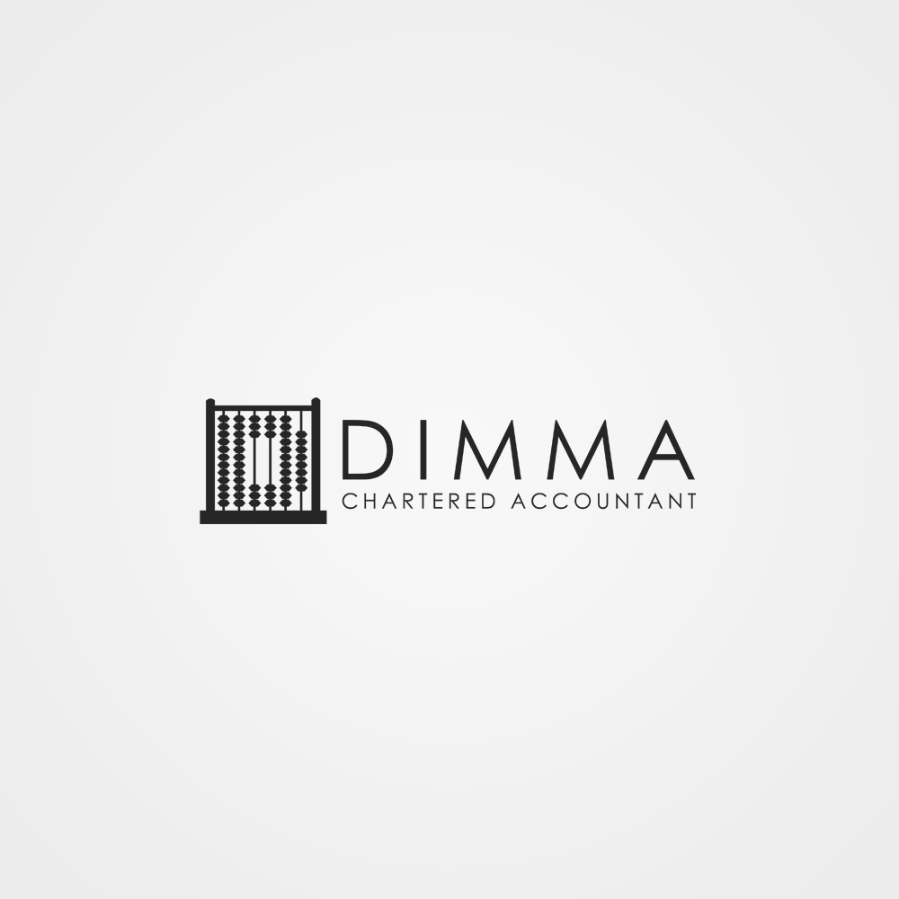 Logo Design by omARTist - Entry No. 140 in the Logo Design Contest Creative Logo Design for Dimma Chartered Accountant.