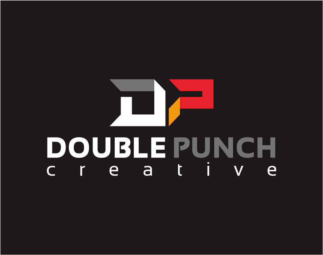 Logo Design by Armada Jamaluddin - Entry No. 104 in the Logo Design Contest Unique Logo Design Wanted for Double Punch Creative.