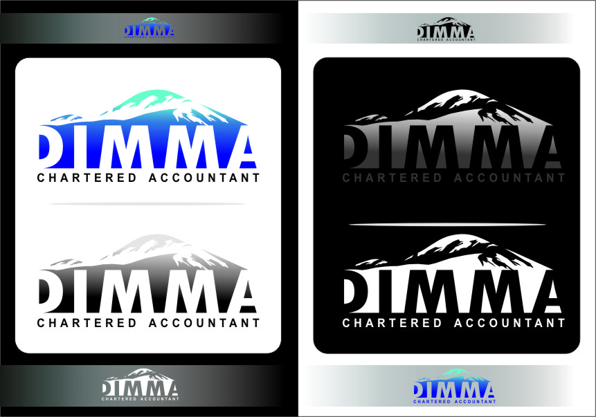 Logo Design by Ngepet_art - Entry No. 141 in the Logo Design Contest Creative Logo Design for Dimma Chartered Accountant.