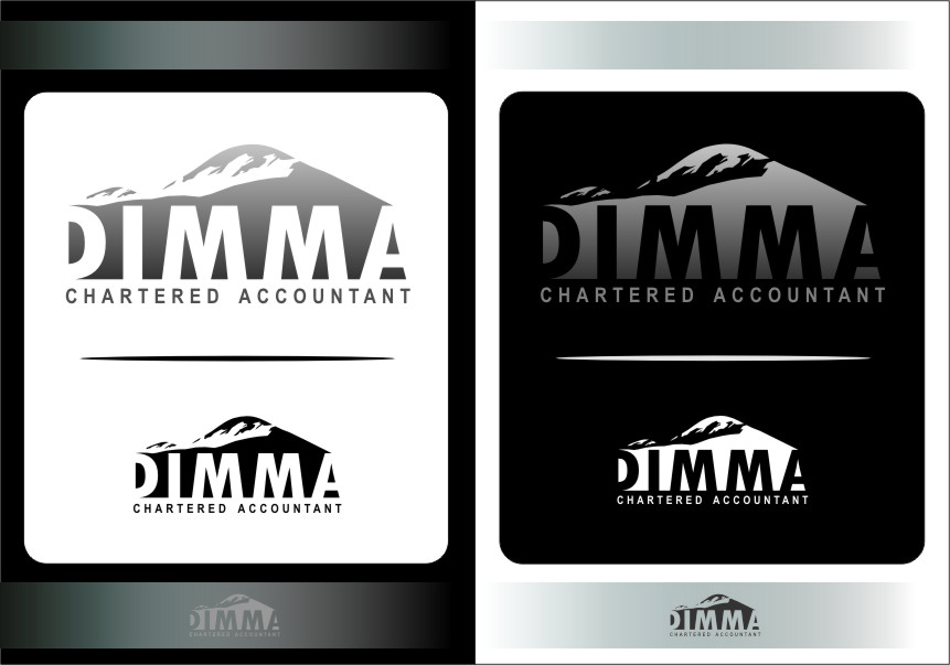 Logo Design by Ngepet_art - Entry No. 142 in the Logo Design Contest Creative Logo Design for Dimma Chartered Accountant.