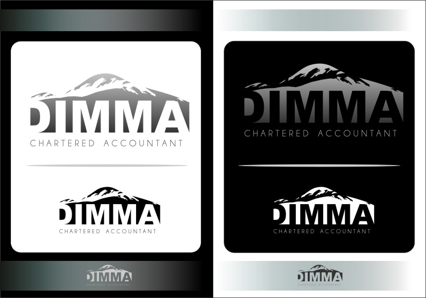 Logo Design by RasYa Muhammad Athaya - Entry No. 143 in the Logo Design Contest Creative Logo Design for Dimma Chartered Accountant.