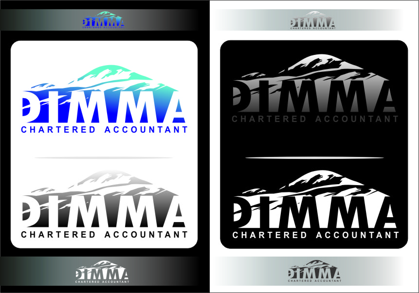 Logo Design by Ngepet_art - Entry No. 144 in the Logo Design Contest Creative Logo Design for Dimma Chartered Accountant.