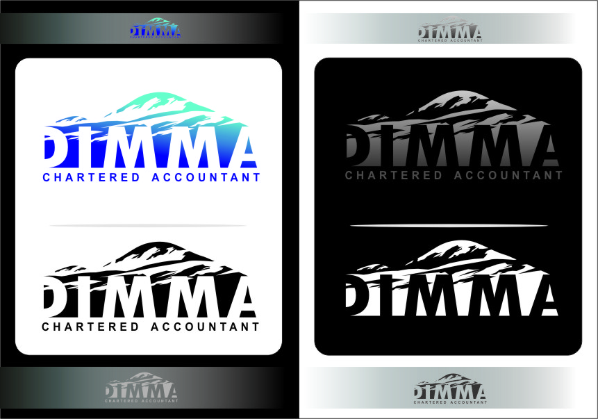 Logo Design by RoSyid Rono-Rene On Java - Entry No. 145 in the Logo Design Contest Creative Logo Design for Dimma Chartered Accountant.