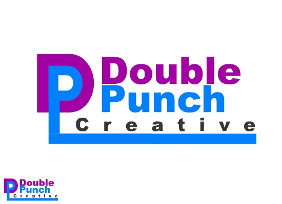 Logo Design by Ismail Adhi Wibowo - Entry No. 112 in the Logo Design Contest Unique Logo Design Wanted for Double Punch Creative.