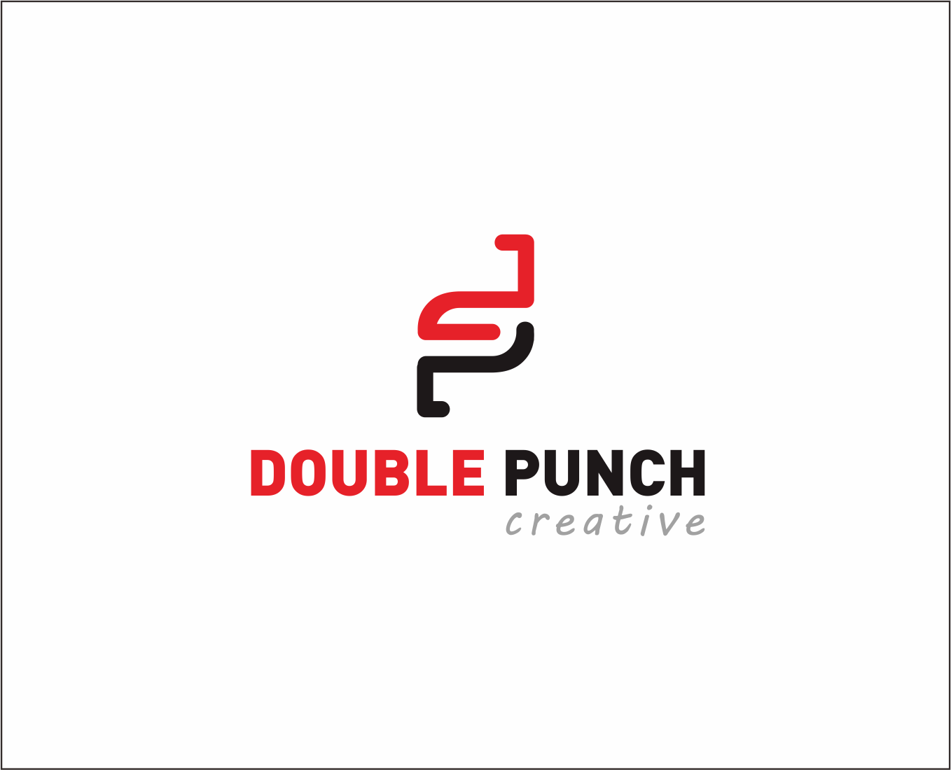 Logo Design by Armada Jamaluddin - Entry No. 113 in the Logo Design Contest Unique Logo Design Wanted for Double Punch Creative.
