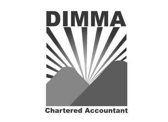 Logo Design by Ismail Adhi Wibowo - Entry No. 146 in the Logo Design Contest Creative Logo Design for Dimma Chartered Accountant.