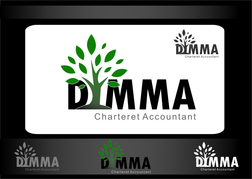 Logo Design by Ngepet_art - Entry No. 151 in the Logo Design Contest Creative Logo Design for Dimma Chartered Accountant.
