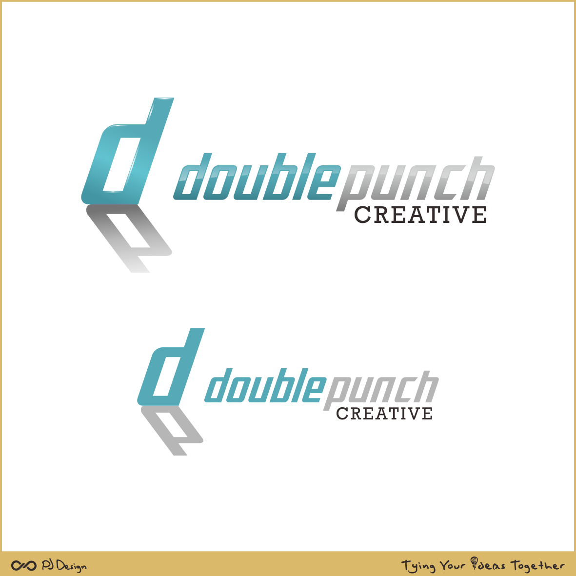 Logo Design by PJD - Entry No. 126 in the Logo Design Contest Unique Logo Design Wanted for Double Punch Creative.