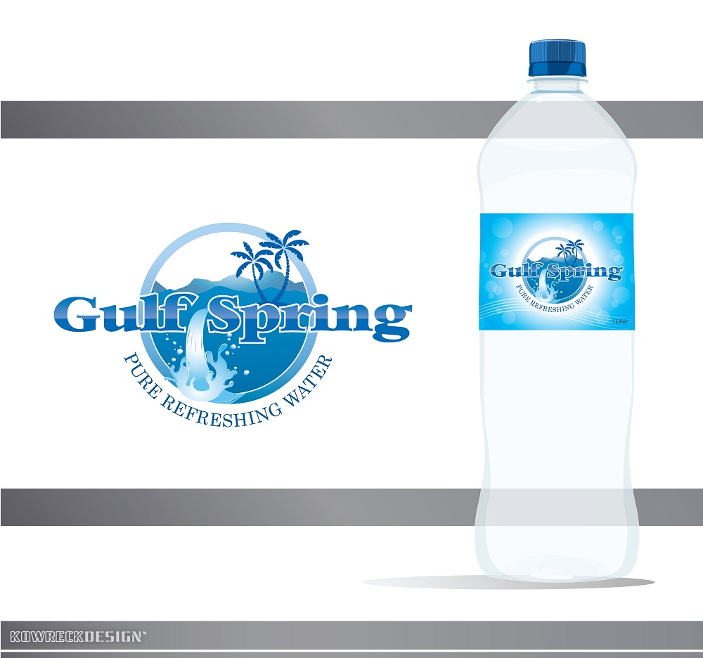 Logo Design by kowreck - Entry No. 13 in the Logo Design Contest Inspiring Logo Design for Gulf Spring.