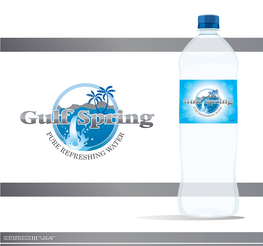 Logo Design by kowreck - Entry No. 14 in the Logo Design Contest Inspiring Logo Design for Gulf Spring.