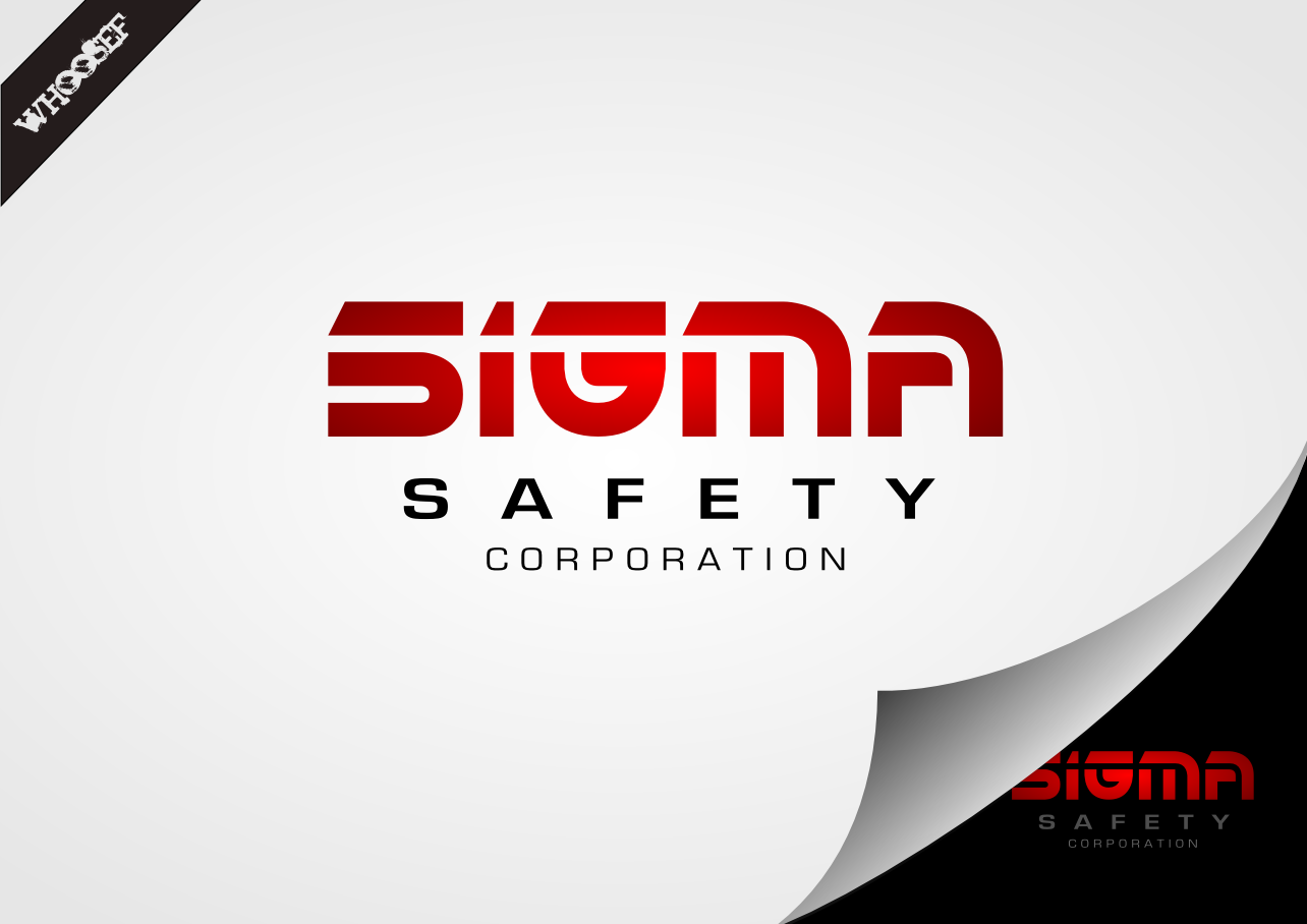 Logo Design by whoosef - Entry No. 46 in the Logo Design Contest Creative Logo Design for Sigma Safety Corporation.