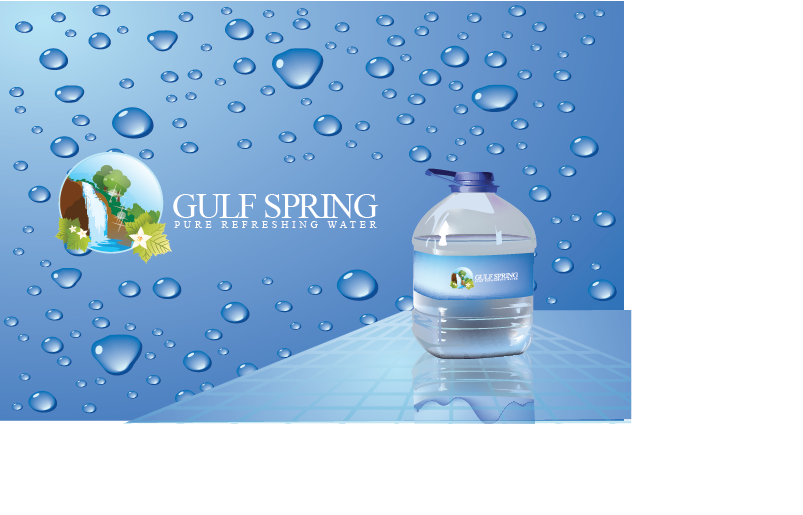 Logo Design by Private User - Entry No. 22 in the Logo Design Contest Inspiring Logo Design for Gulf Spring.