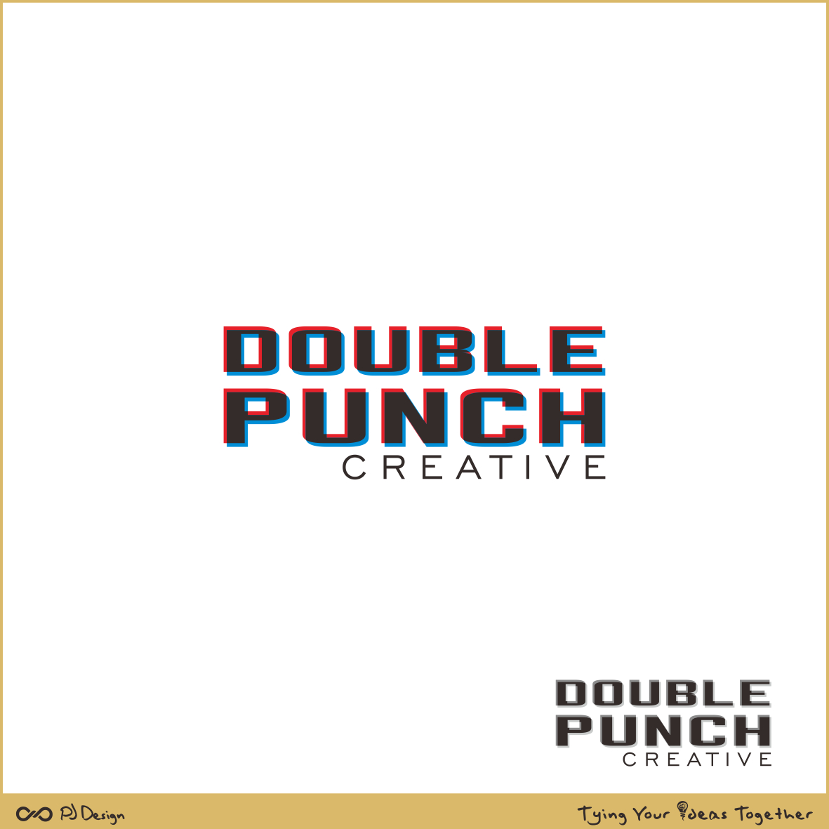 Logo Design by PJD - Entry No. 132 in the Logo Design Contest Unique Logo Design Wanted for Double Punch Creative.