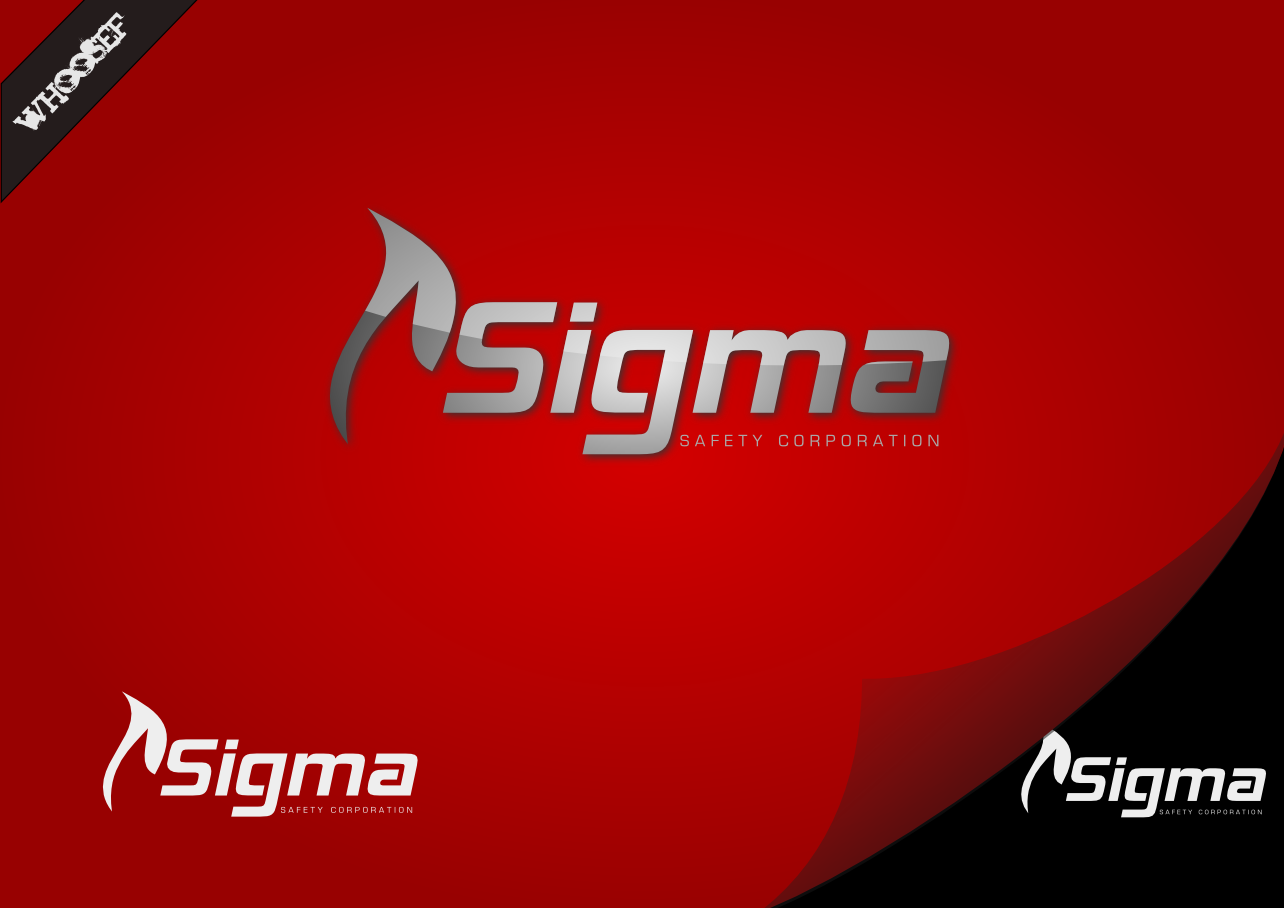Logo Design by whoosef - Entry No. 49 in the Logo Design Contest Creative Logo Design for Sigma Safety Corporation.