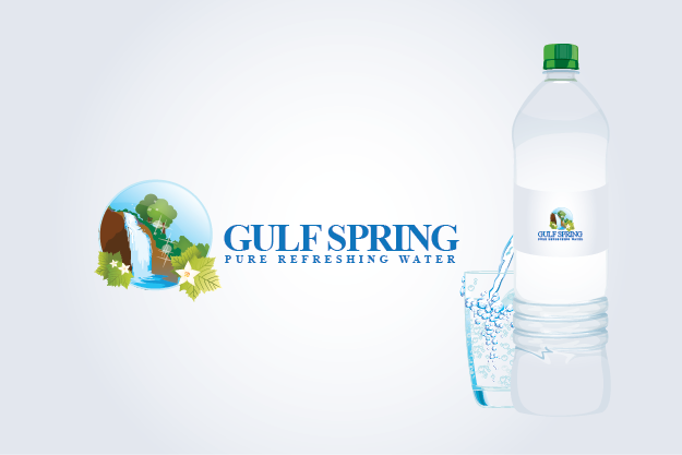 Logo Design by Private User - Entry No. 24 in the Logo Design Contest Inspiring Logo Design for Gulf Spring.