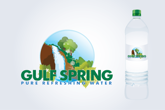 Logo Design by Private User - Entry No. 25 in the Logo Design Contest Inspiring Logo Design for Gulf Spring.