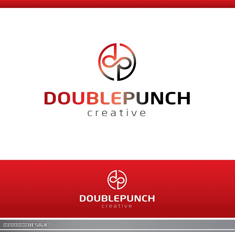 Logo Design by kowreck - Entry No. 135 in the Logo Design Contest Unique Logo Design Wanted for Double Punch Creative.