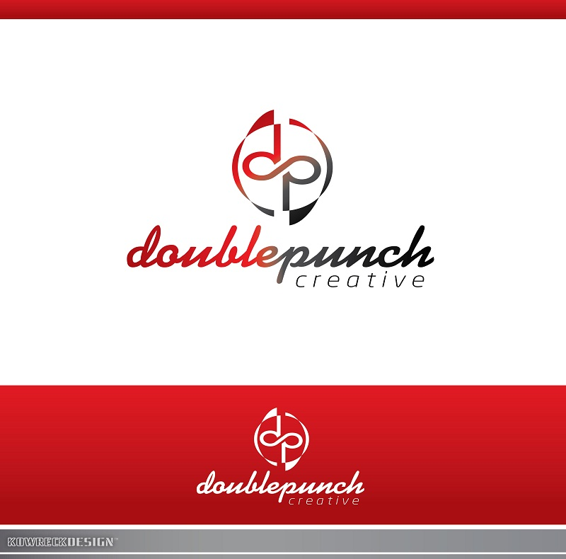 Logo Design by kowreck - Entry No. 136 in the Logo Design Contest Unique Logo Design Wanted for Double Punch Creative.