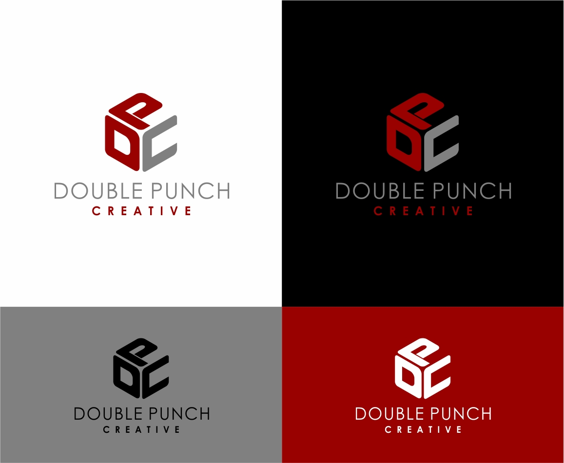 Logo Design by haidu - Entry No. 139 in the Logo Design Contest Unique Logo Design Wanted for Double Punch Creative.